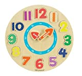 : Small World Toys Ryan's Room Wood Puzzle - Tick Tock Clock