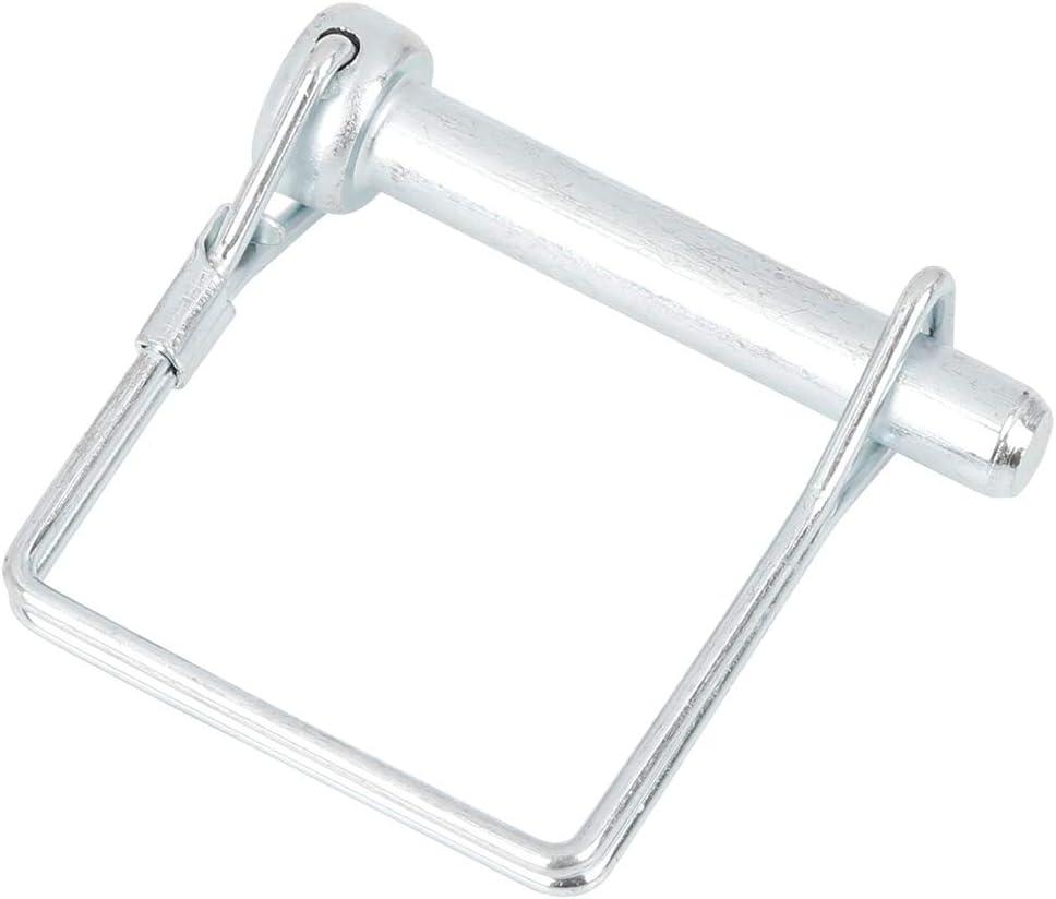 X AUTOHAUX 10pcs 1.97 Length 0.31 Diameter Square Shape Trailer Shaft Locking Coupler Pin for Car Boat