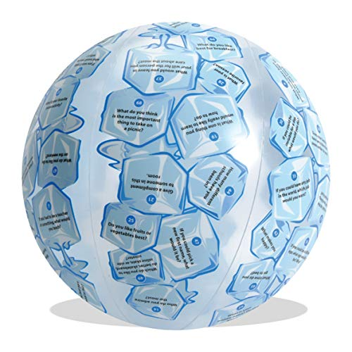 - American Educational Vinyl Clever Catch Ice Breaker Advanced Ball, 24