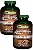 TNVitamins High Potency Cinnamon 1500 Mg 2×90 caps