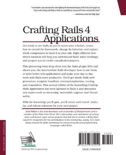 Crafting Rails 4 Applications Expert Practices for Everyday Rails Development