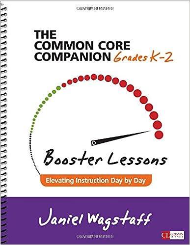Download E Books The Common Core Companion Booster Lessons Grades