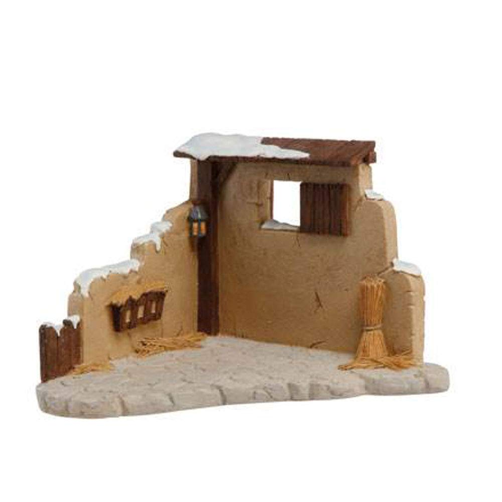 Goebel Stall mit Futterkrippe Nina Marco Midi-Krippe Bunt Polyresin 11750561
