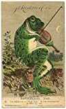 #6: Larkin Soap Company Trading Card Reproduction Frog Playing Violin 8.5