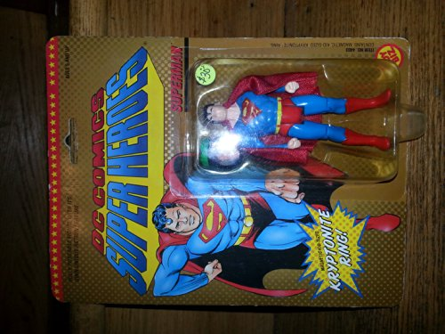 Superman DC Comics Super Heroes with Kryptonite Ring Action Figure