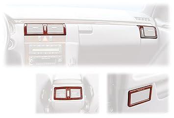 Amazon.es: Schätz 2108003 - Embellecedores de accesorios para Mercedes E W210 (coches con volante a la derecha, madera de nogal), color marrón