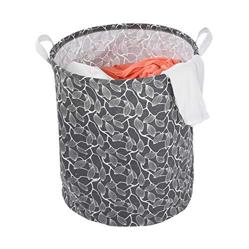 Leslily Hamper, Waterproof Canvas Laundry Hamper Clothes Basket Storage Basket Folding Bag Hamper Bag by Leslily (Image #3)