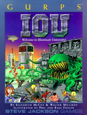 GURPS IOU (GURPS: Generic Universal Role Playing System)