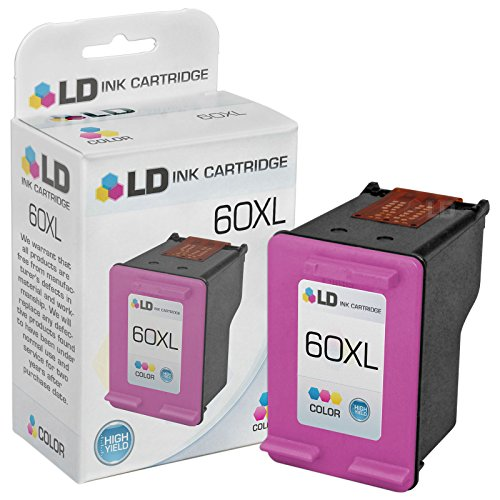 LD Remanufactured Ink Cartridge Replacement for HP 60XL CC64
