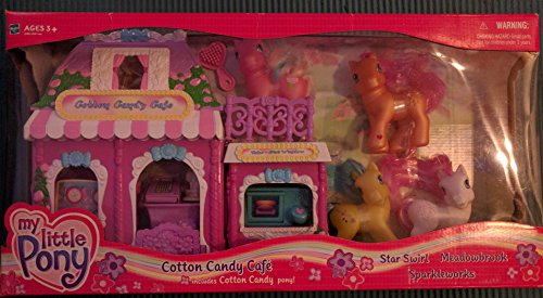 My Little Pony Cotton Candy Cafe Rare Value -