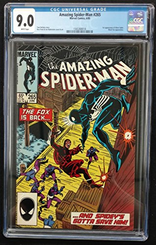 Amazing Spider-man (1963) #265 CGC 9.0 1st Appearance Silver Sable (156368018)
