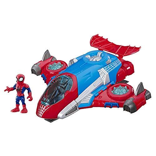 Super Hero Adventures Playskool Heroes Marvel Spiderman Jetquarters