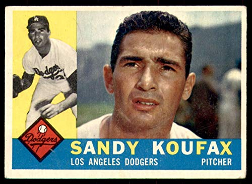 1960 Topps #343 Sandy Koufax Very Good Dodgers