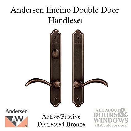 Andersen® Encino Style (Double Active) Hinged Door Hardware Set in ...