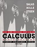img - for Calculus: One and Several Variables, Student Solutions Manual, Ninth Edition book / textbook / text book