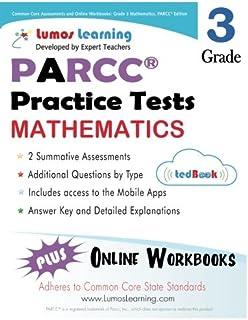 Amazon common core practice 3rd grade english language arts common core assessments and online workbooks grade 3 mathematics parcc edition fandeluxe Images