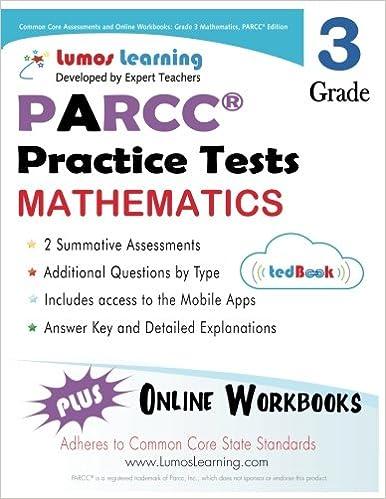 Common Core Assessments and Online Workbooks: Grade 3 Mathematics ...