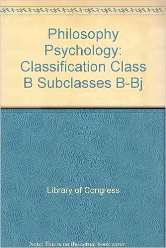 Mejor Torrent Descargar Philosophy Psychology: Classification Class B Subclasses B-bj PDF Web
