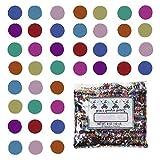 Confetti Circle 1/4'' MultiColor Mix - Half Pound Bag (8 oz) FREE SHIPPING --- (CCP8561)