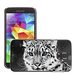Super Stellar Slim PC Hard Case Cover Skin Armor Shell Protection // M00052016 portrait animal black and white // Samsung Galaxy S5 i9600