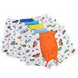 Inking Underwear Hipster Cotton Boy's Boxer Briefs Cute Panties 3-pack