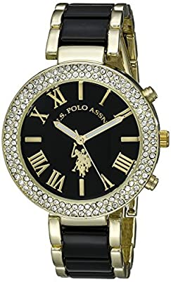 U.S. Polo Assn. Women's USC40061 Two-Tone Watch