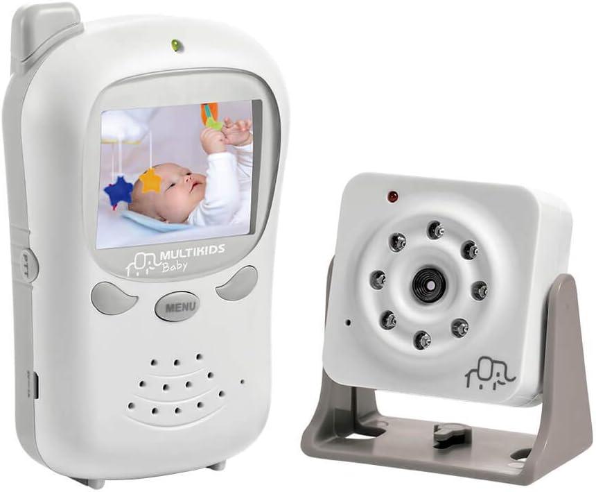 Babá Eletrônica Digital com Câmera BB126, Multikids Baby