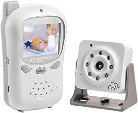 Babá Eletronica Digital com Câmera BB126, Multikids Baby, Branco, Bivolt