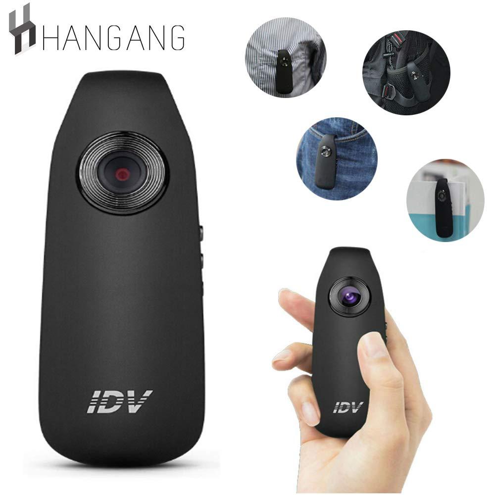 漢江小型スパイカメラ1080 pフルHD隠しカメラカムボディクリップ家庭用およびオフィス用、ミニスポーツDVRおよび車のダッシュカメラ   B078MKH3PJ