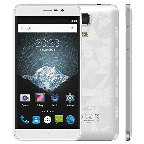 Cubot Z100 Unlocked Cellphone 5.0'' IPS Screen MTK6735 64Bit Qual Core 1.0GHz CPU Android 5.1 OS 1GB RAM 16GB ROM 13.0MP Camera
