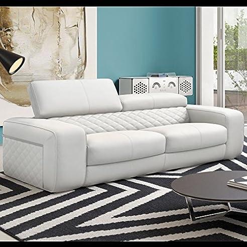 Ledercouch Design designer sofa leder sofagarnitur zweisitzer polstergarnitur