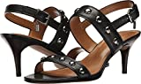 Coach Womens Mandy Open Toe Casual Strappy Sandals, Black, Size 6.5