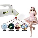 Mini 600-watt Hand Held Garment Steamer,household mini garment steamer portable Mini Travel Clothes Steamer---Green