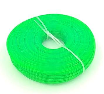 Bobina de hilo cortador hexagonal para desbrozadora, 100 m, 3,0 mm ...