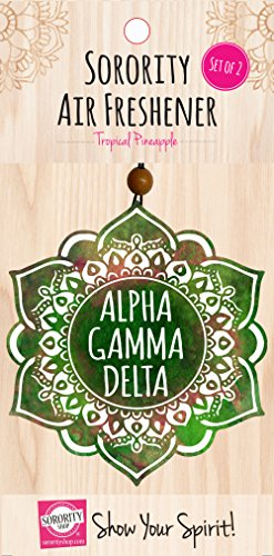 Alpha Gamma Delta - Mandala Air Freshener - 2/Pack