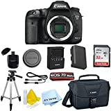 Canon EOS 7D Mark II Digital SLR Camera (Body Only) + Accessory Bundle