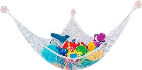 SODIAL(R) Spielzeug Haengematte riesig Spielzeug Haengematte Netz Veranstalter Kuscheltiere Lagerung Netz 120*80*80CM