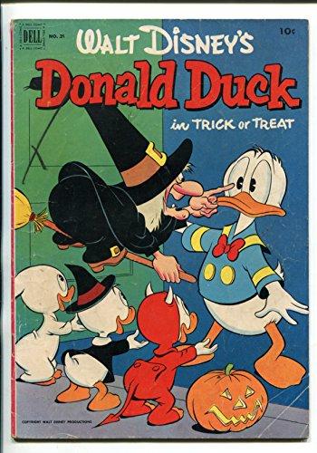 (DONALD DUCK #26-1952-HALLOWEEN ISSUE-CARL)