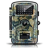 Trail Game Camera-ENKLOV Wildlife Hunting Camera with Infrared Night Vision,26pcs 940nm IR LEDs,2.4inch LCD Screen,IP66 Waterproof