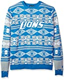 FOCO NFL Mens Holiday Ugly Christmas Tree & Ornament Sweater
