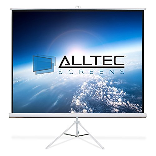 - Alltec Screens ATS-TP135 Tripod Portable Projector Screen 135
