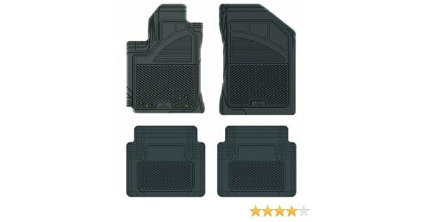 Koolatron Pants Saver Custom Fit 4 Piece All Weather Car Mat for Select Honda Accord Models Grey
