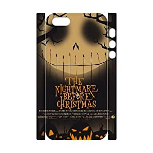Hjqi - DIY The Nightmare Before Christmas 3D Cell Phone Case, The Nightmare Before Christmas Custom Case for iPhone 5,5G,5S