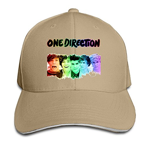 - ACMIRAN This Is Us Unisex Sandwich Peaked Cap One Size Natural