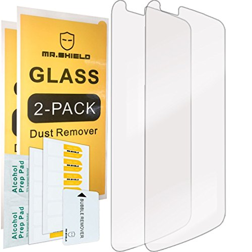 [2-PACK]-Mr Shield For LG Premier LTE [Tempered Glass] Screen Protector with Lifetime Replacement Warranty