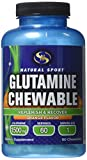 Natural Sport Glutamine Flavored Chewable, Orange, 60 Count