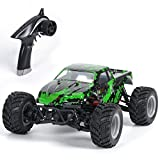 GPTOYS RC Truck S919 RC Car 1/18 Scale 4WD Remote Control Car Off Road Vehicle (Green)