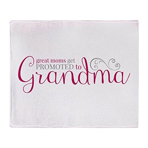 "CafePress Promoted to Grandma Soft Fleece Throw Blanket, 50""x60"" Stadium Blanket"