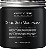 Majestic Pure Dead Sea Mud Mask for Face and Body, Gentle...