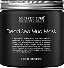 Dead Sea Mud Mask provides care for your skin and body. Due to its unique high concentration of minerals and salts, Dead Sea mud is used by thousands of people to get smoother and clearer skin including celebrities and supermodels. This exact...